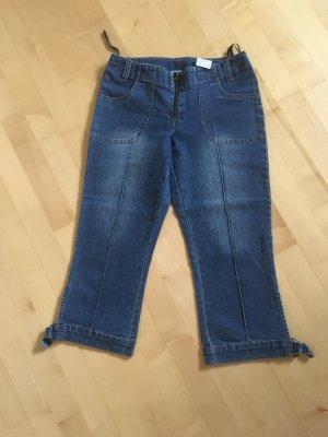 7/8-jeans donkerblauw
