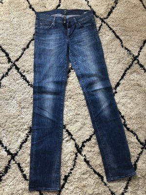 7 For All Mankind Vaquero rectos azul