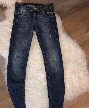 Zara Low Rise Jeans dark blue