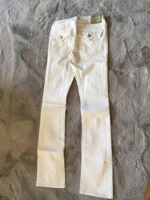True Religion Low Rise jeans wit