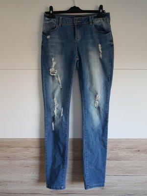 Even & Odd Jeans stretch multicolore coton