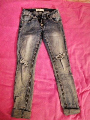 Blue Rags Low Rise jeans blauw