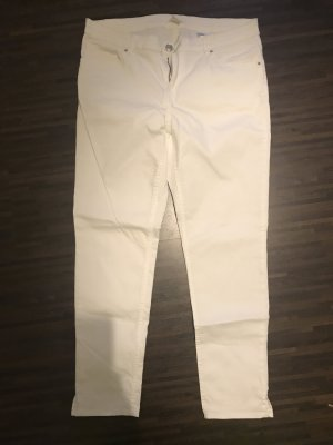 H&M Jeans cigarette blanc
