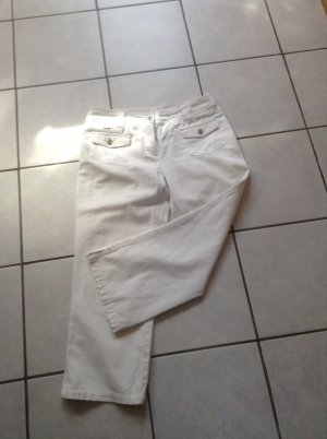 Cecil 7/8 Length Trousers white