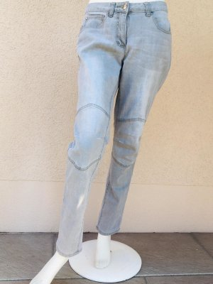 Tamaris Jeans a sigaretta grigio chiaro