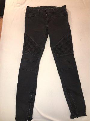 Replay Biker jeans zwart-grijs