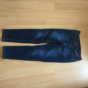 Heine Carrot Jeans dark blue cotton