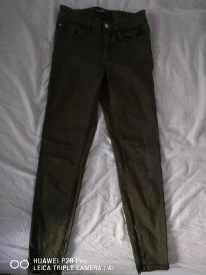 Zara Basic Tube jeans khaki
