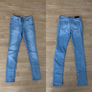 Vero Moda Pantalone a sigaretta azzurro-blu