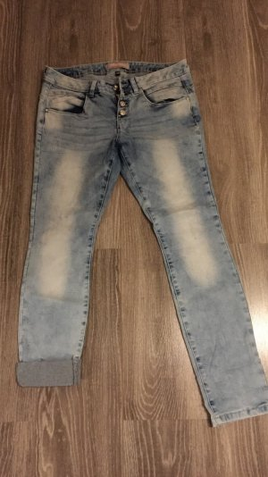 Blind Date Stretch Jeans light blue