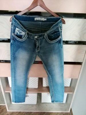 Jeans elasticizzati azzurro