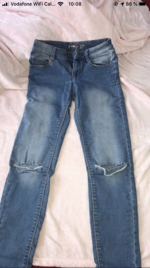 FB Sister Tube jeans donkerblauw