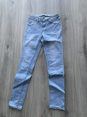 Colloseum Jeans taille basse bleu azur