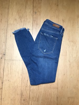 Abercrombie & Fitch High Waist Jeans blue