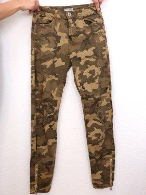 Bershka Jeans skinny multicolore