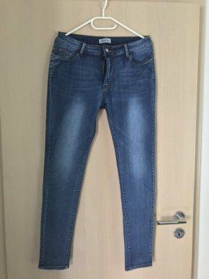 Jeans bootcut bleu foncé