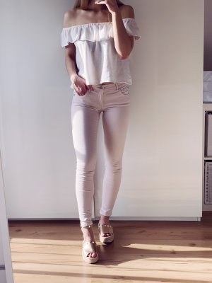 Pull & Bear Tube Jeans pink-dusky pink