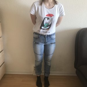 Low Rise Jeans azure