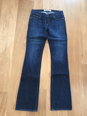 Abercrombie & Fitch Boot Cut spijkerbroek blauw