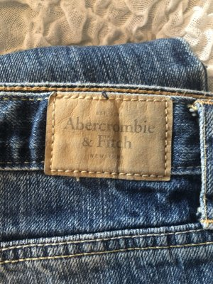 Abercrombie & Fitch Straight Leg Jeans blue
