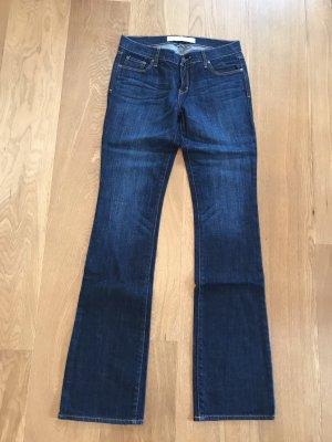 Abercrombie & Fitch Jeans svasati blu