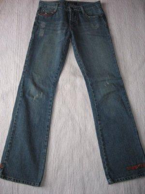 jeans abercrombie & fitch neu gr. 2 xs, 34 vintage