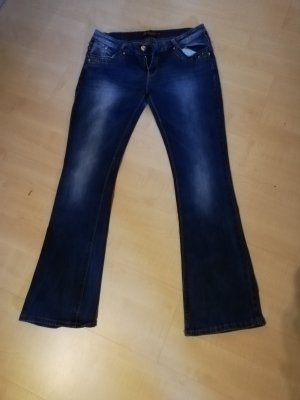 Jeans stretch bleu