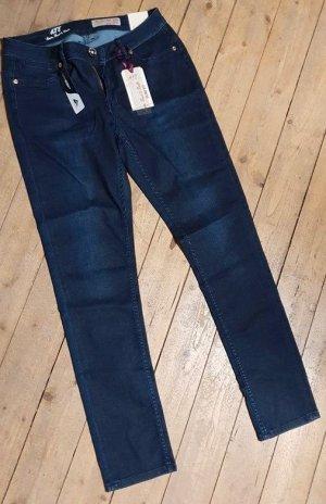ATT Jeans Vaquero elásticos azul oscuro