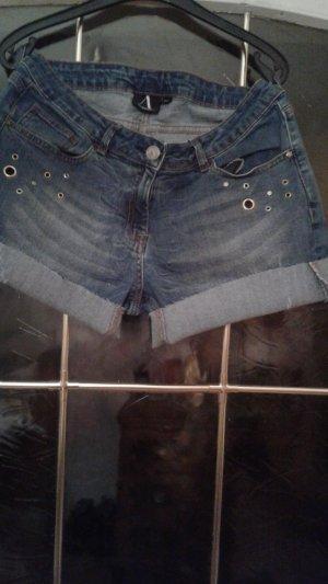 Anastacia Denim Shorts pale blue