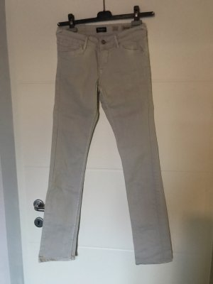 Anastacia Low Rise jeans licht beige