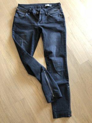 Anine Bing Jeans skinny grigio-grigio scuro