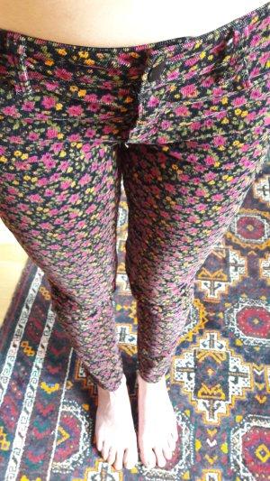 Forever 21 Pantalone di velluto a coste multicolore