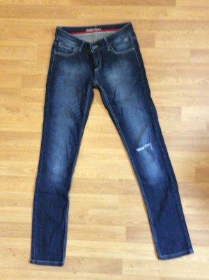 Topshop Jeans skinny bleu foncé-bleu