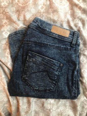 Clockhouse Jeans stretch bleu foncé-bleu pétrole