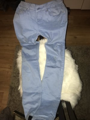 (The Mercer) NY Drainpipe Trousers light blue