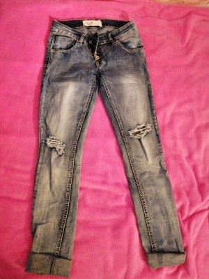 Blue Rags Low Rise Jeans blue