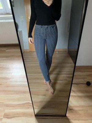 Tube Jeans blue-white