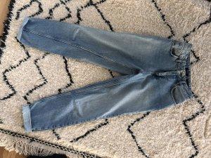 Urban Outfitters Jeans a vita alta azzurro
