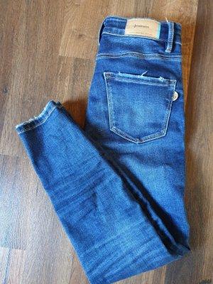 Stradivarius Skinny Jeans blue-dark blue