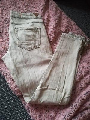 Jeans beige creme