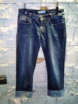 Jeans Bermudas in gr 36 Farbe Blau Washend