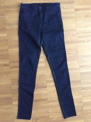 Jeans bicolor schwarz/blau Minimum Gr.38