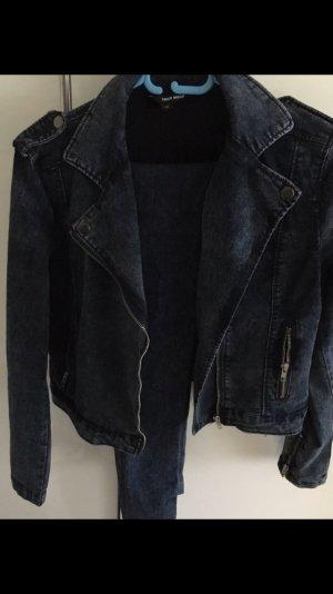 Jeans Biker Jacke und passende Hose von Tally Weijl