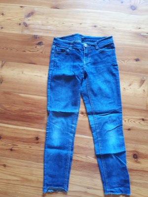 High Waist Jeans dark blue