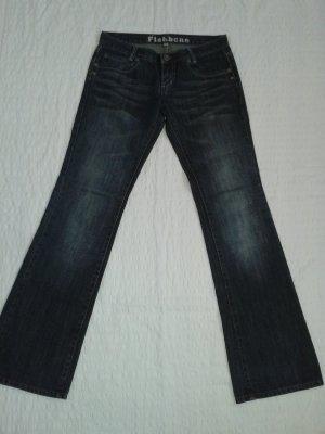 Jeans * blau-grau * Fishbone * Größe 27  * Bootcut