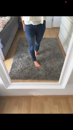 Jeans blau mit Reißverschluss Mango 34 XS
