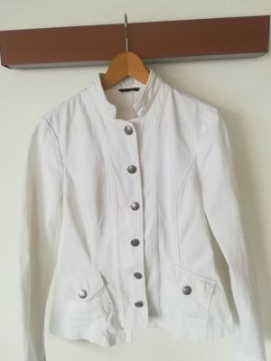 Sisley Denim Blazer white