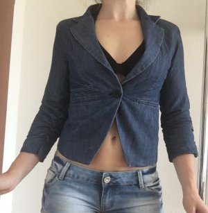 Madonna Denim Blazer dark blue