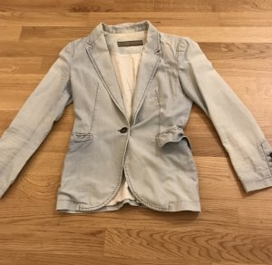 Zara Denim Blazer multicolored