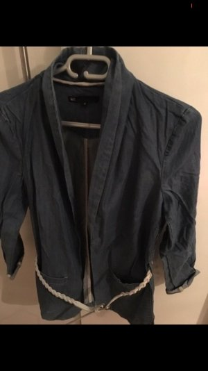 Denim Blazer steel blue